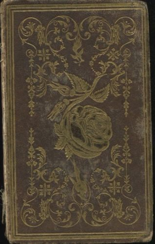 The-Moss-Rose-a-Gift-for-All-Seasons-1846-Leatherbound-RARE