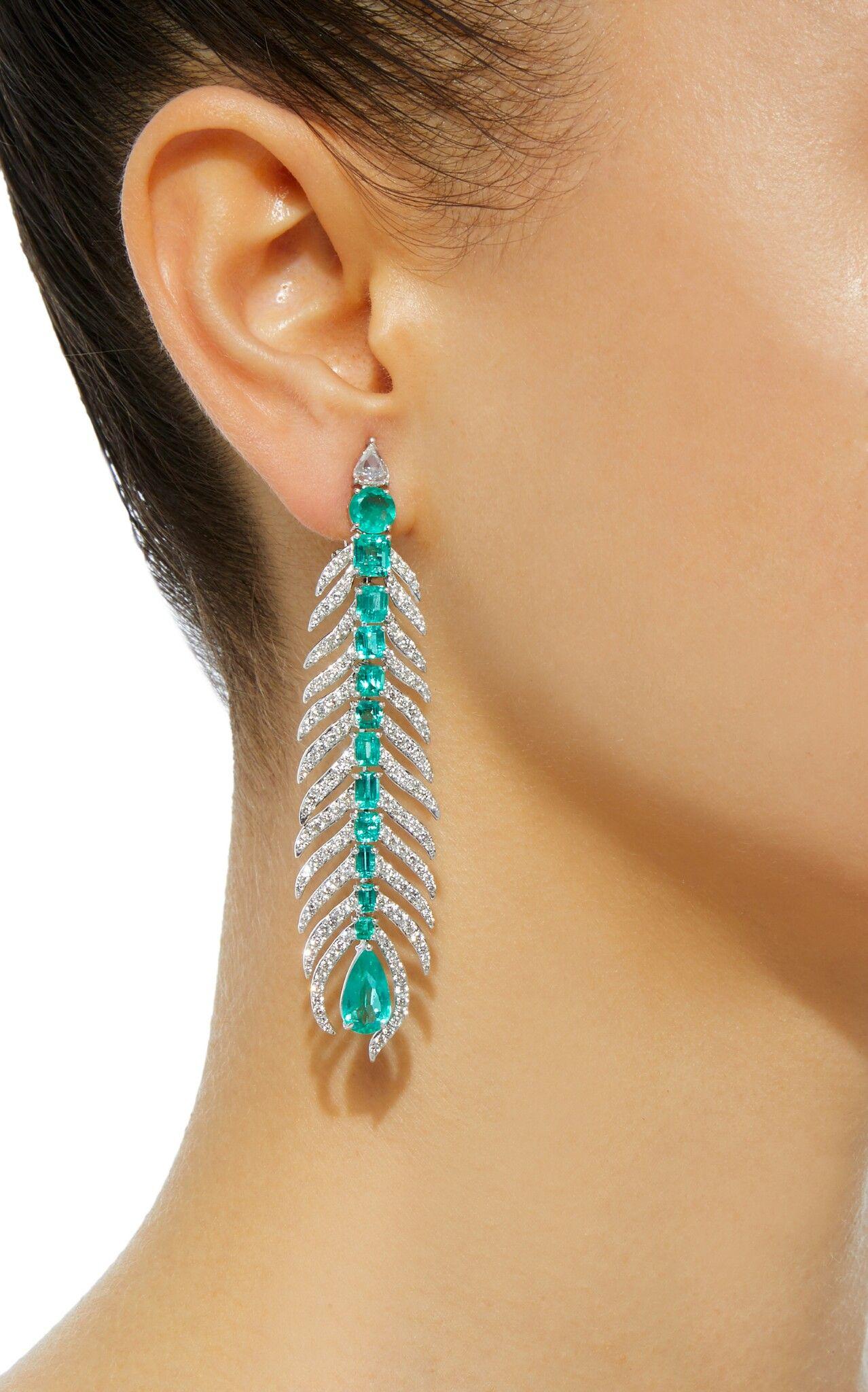 Pin by lorraine schwartz on earrings pinterest emeralds jewel