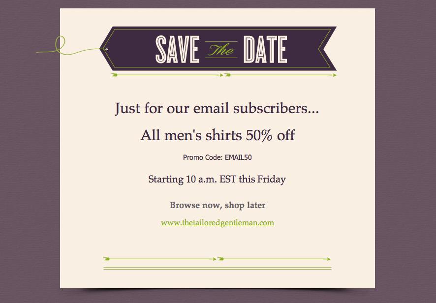 super simple save the date invites invitations emma email