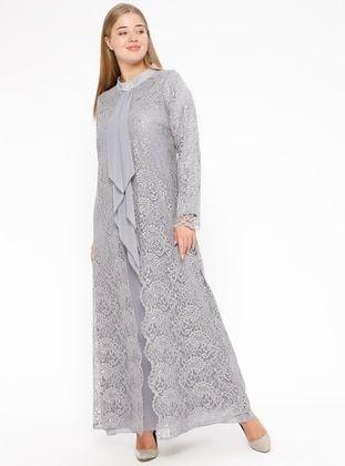 Uzun Ikili Abiye Elbise Aksamustu Giysileri The Dress Elbise