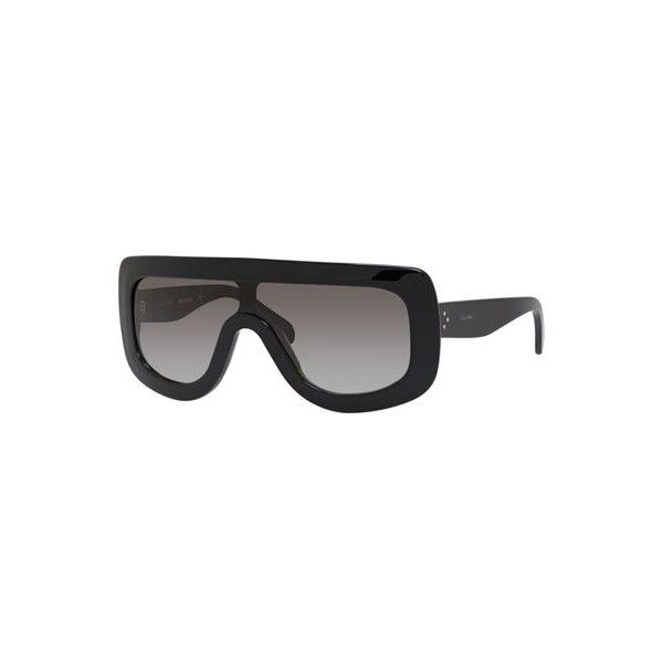 40ea59d75a801 Celine CE 41377 Sunglasses 0807 Black ( 350) ❤ liked on Polyvore featuring  accessories