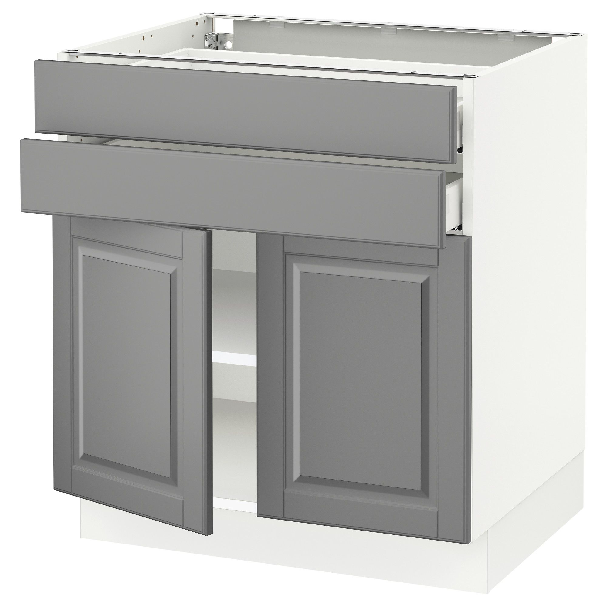 island to end perfect base with dayton harbor decorating drawers cabinets shelves kitchen