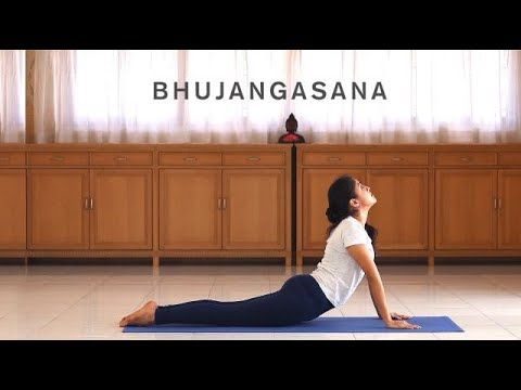 bhujangasana with hand variations in 2020  yoga postures