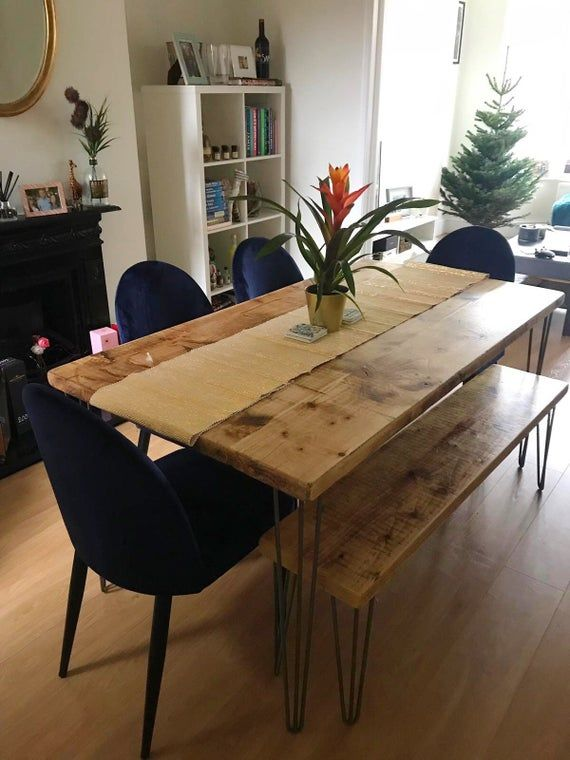 Omni Dining Table & Two Benches Package - Free Delivery -