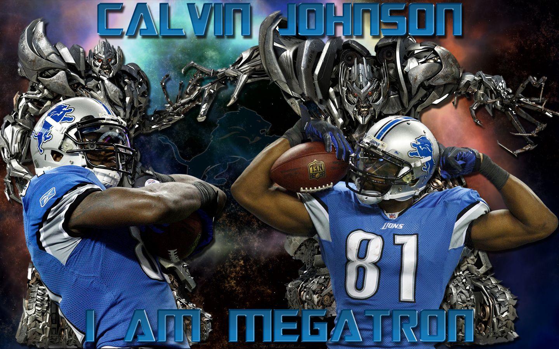 Nfl Jj Watt Wallpaper High Resolution Calvin Johnson Detroit Lions Detroit Lions Wallpaper