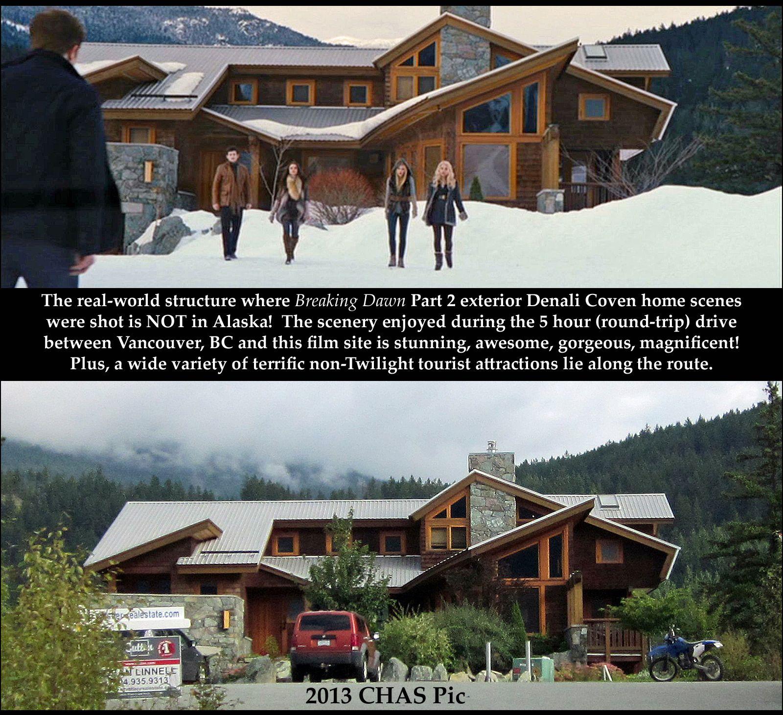 The Denali Coven Home Twilight Saga Twilight Round Trip