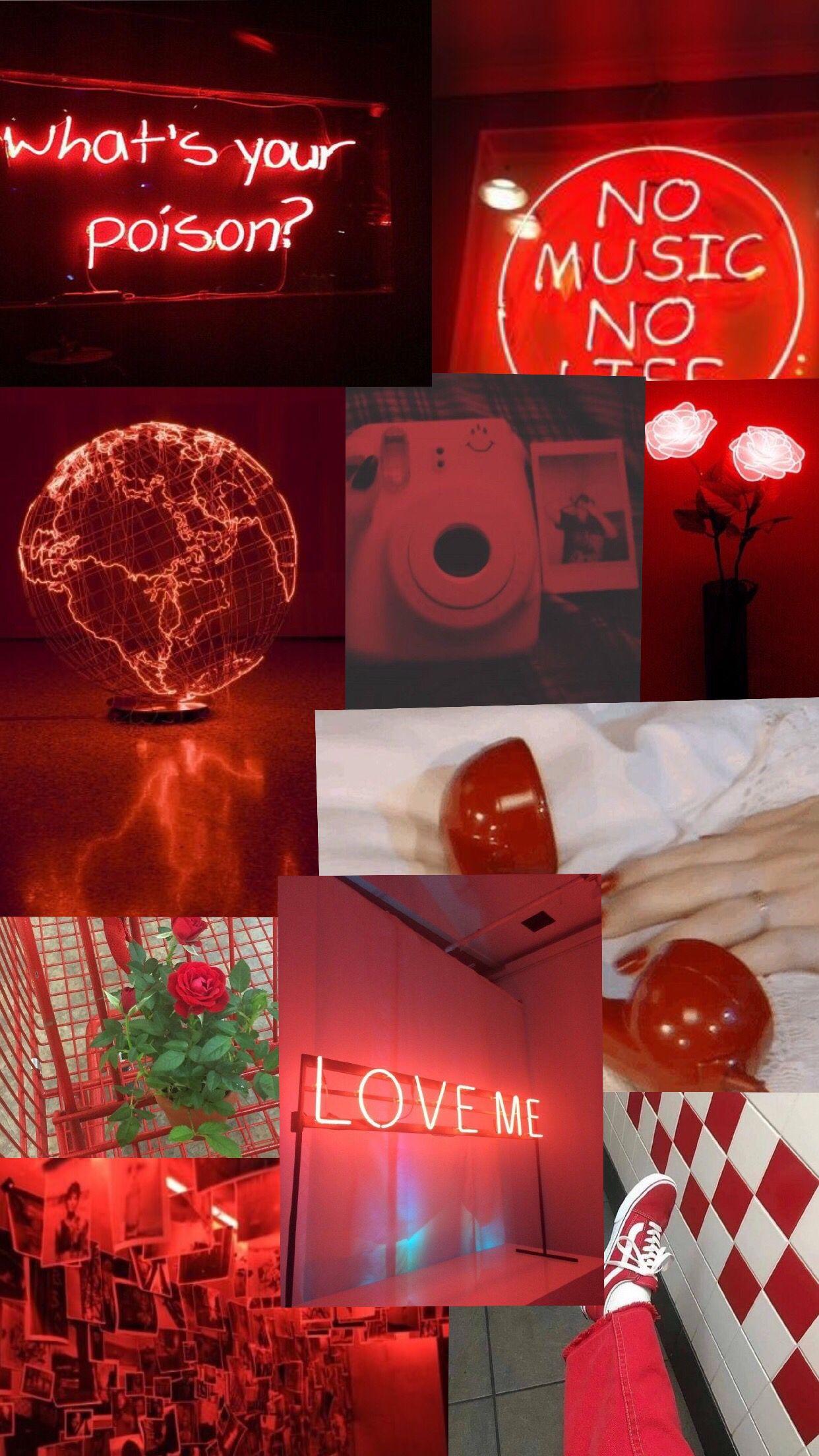Red Redtumblr Tumblr Aesthetic Desktop Wallpaper Red Aesthetic Aries Aesthetic