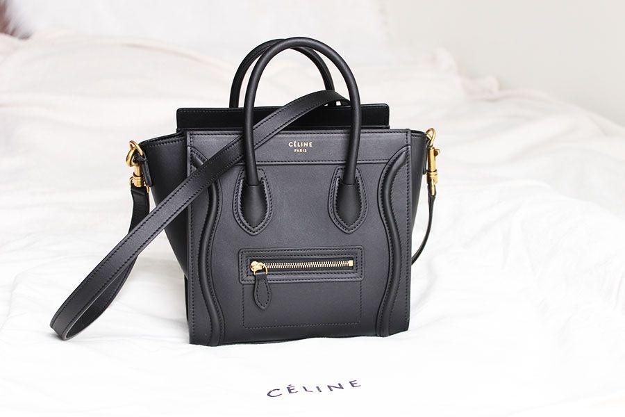 490a033d2243 Celine Paris nano bag black cross body buy London
