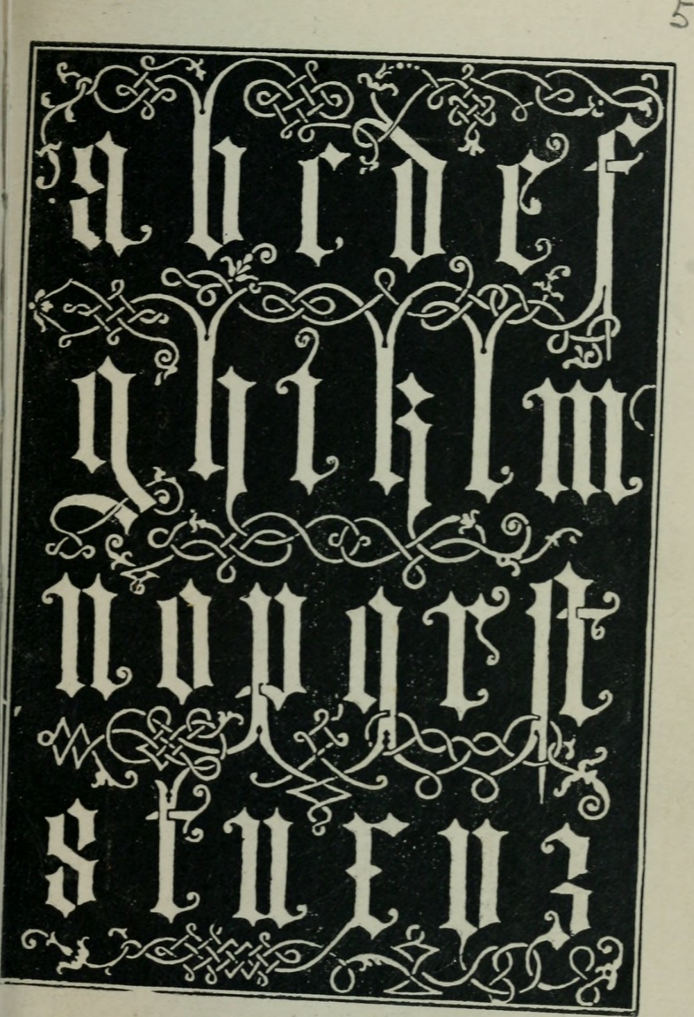 Image From Page 126 Of Alphabets Old And New For The Use Of