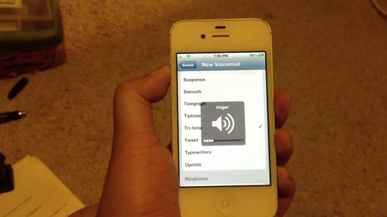 Скачать звуки для айфона 4s