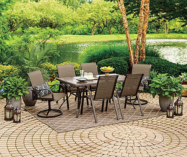 Elegant Wilson U0026 Fisher Brentwood 7 Piece Dining Set At Big Lots.