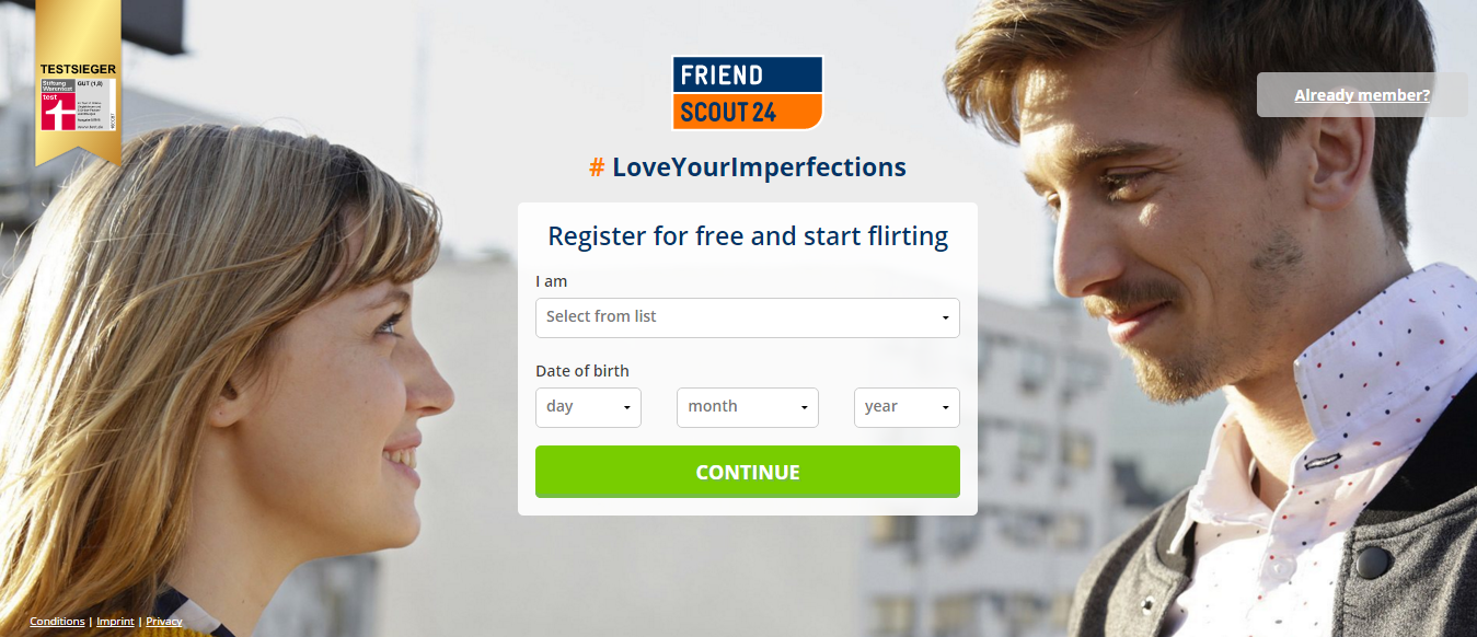 Scout24 Dating Site.