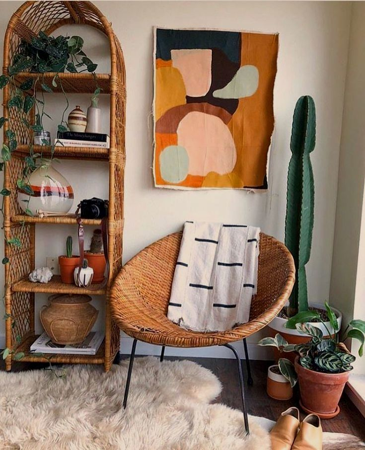 Home decor house decoration bohemian style rattan furniture cactus indoor plants terracota bookshelf also best simple living room images in rh pinterest