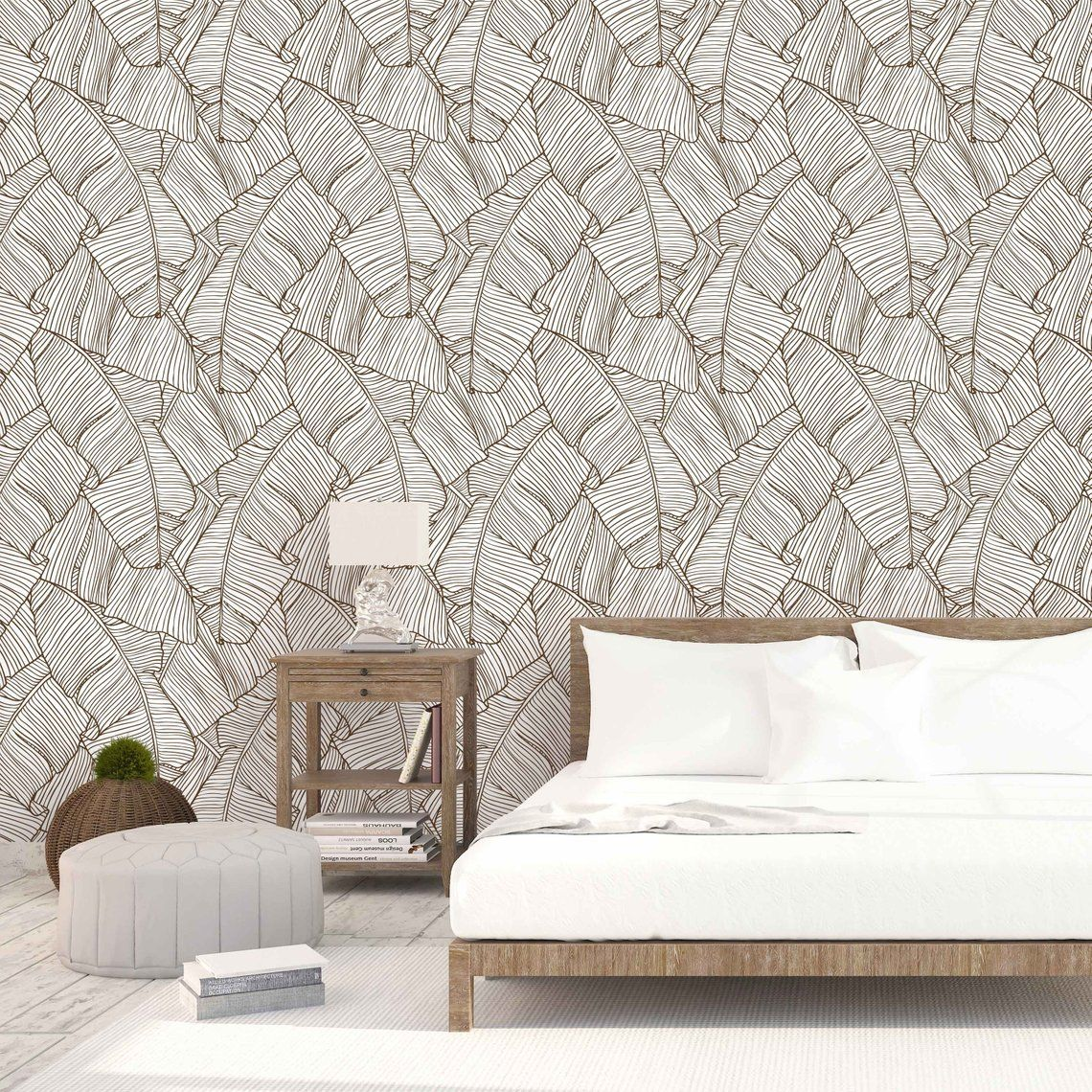 Peel And Stick Wallpaper Removable Wall Sticker 034 Etsy In 2021 Peel And Stick Wallpaper Removable Wall Stickers Wood Wall Design