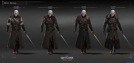Witcher Gear The Witcher 3 Wiki Guide Ign The Witcher 3 Witcher Armor Witcher 3 Armor