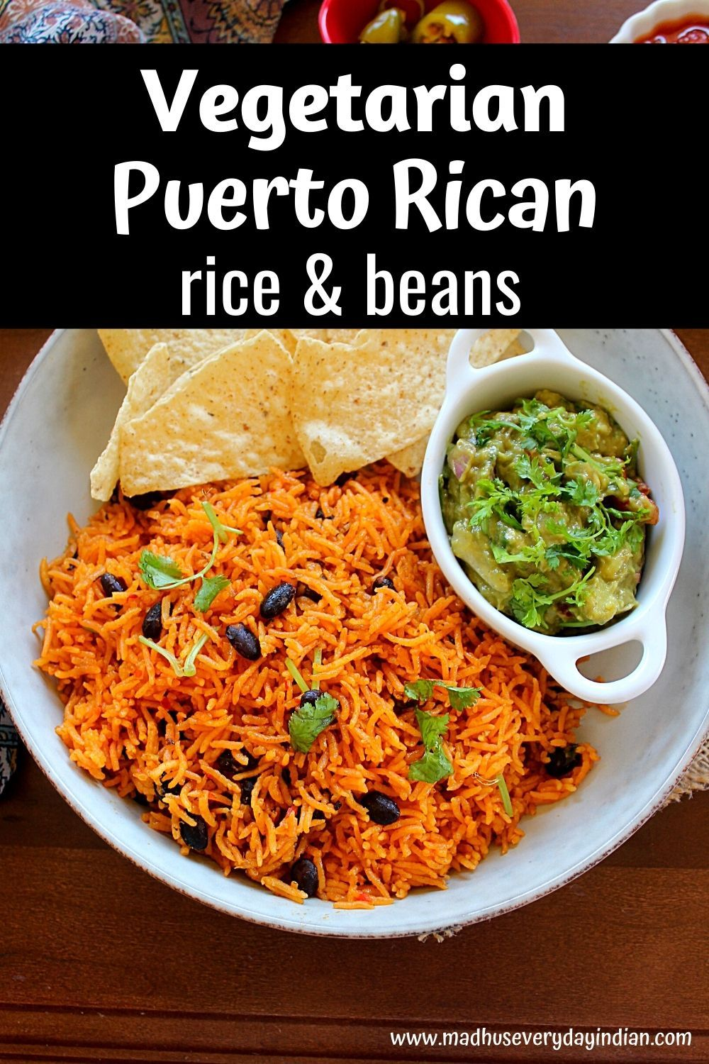 Instant Pot Puerto Rican Rice And Beans Recipe Tasty Vegetarian Recipes Vegetarian Recipes Recipes