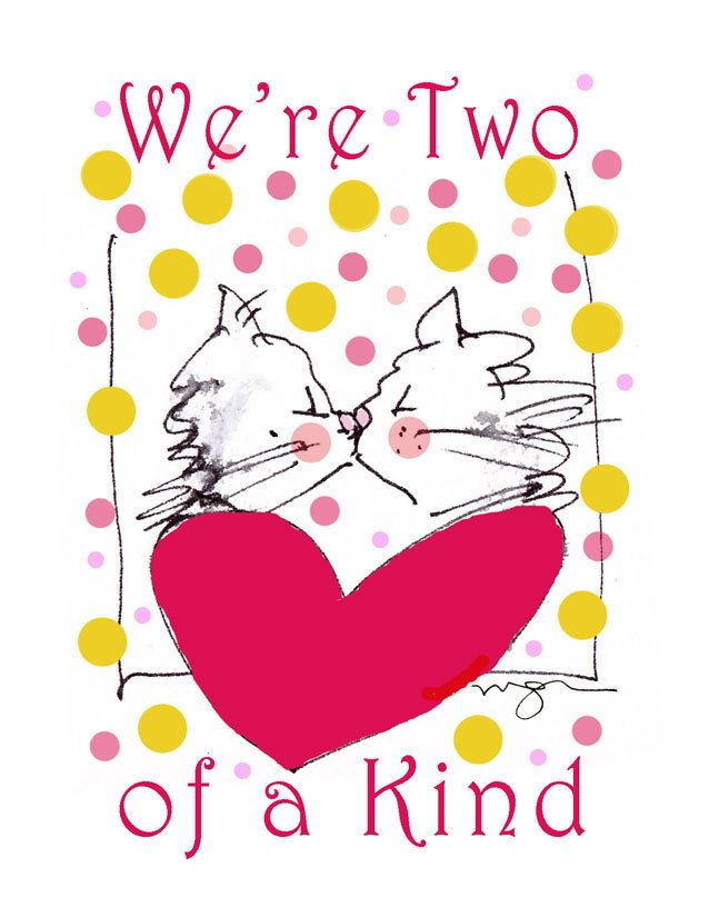 We're Two of A Kind by MacGregorArt