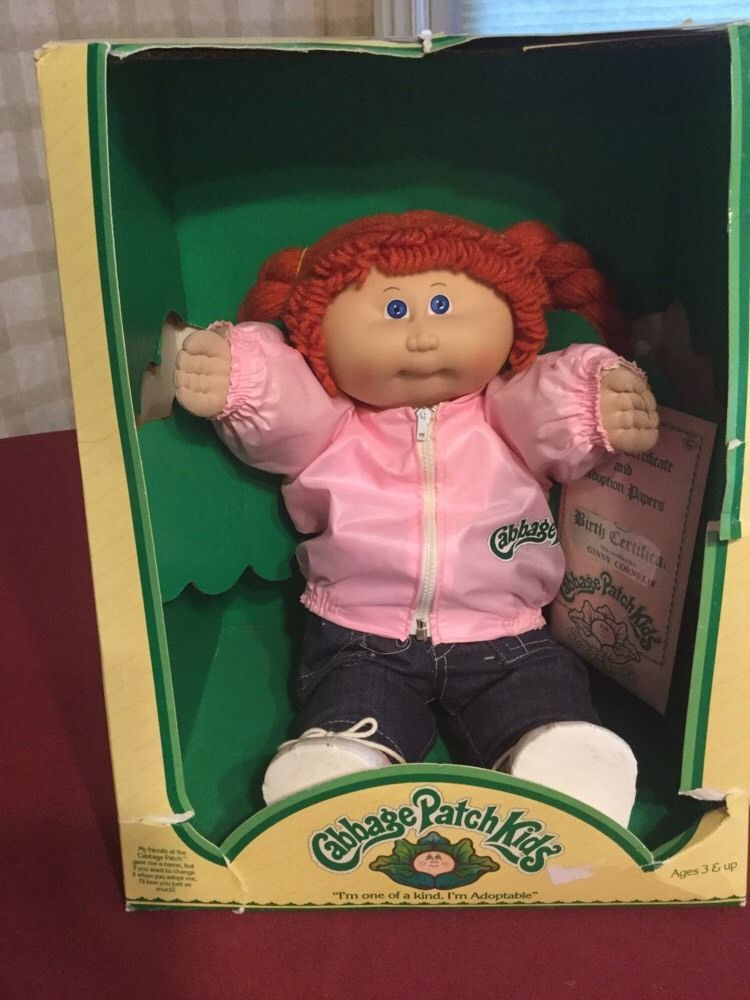 Vintage 1986 Cabbage Patch Kids Young Astronaut Doll Blue Eyes Blond Hair Ebay Cabbage Patch Babies Cabbage Patch Kids Cabbage Patch Dolls