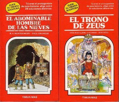 Los famosos libros multiaventura de los 80!