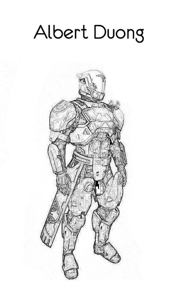 Titan Destiny Coloring Page Google Search Destiny