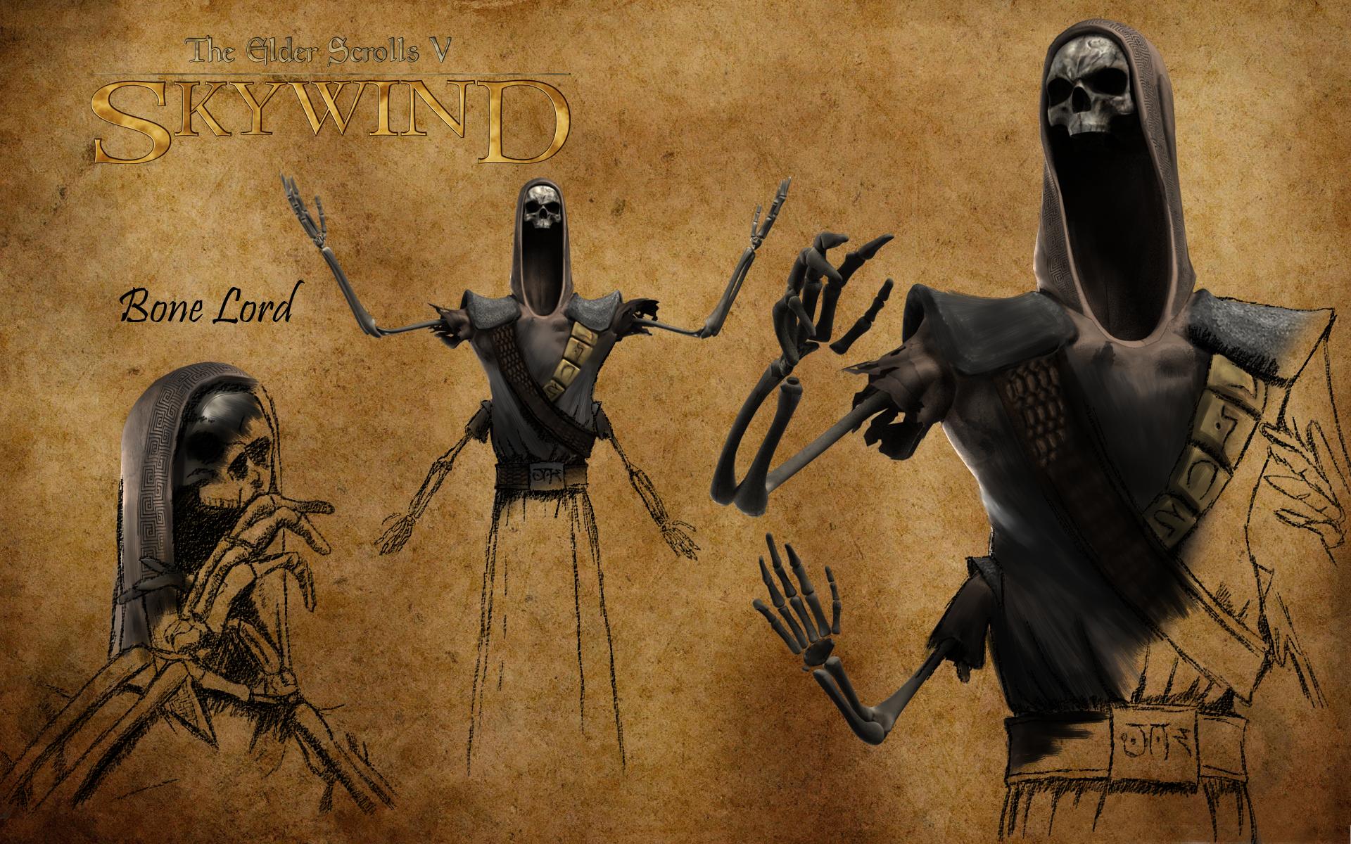 Morrowind Bonelord | Evil in 2019 | Elder scrolls morrowind