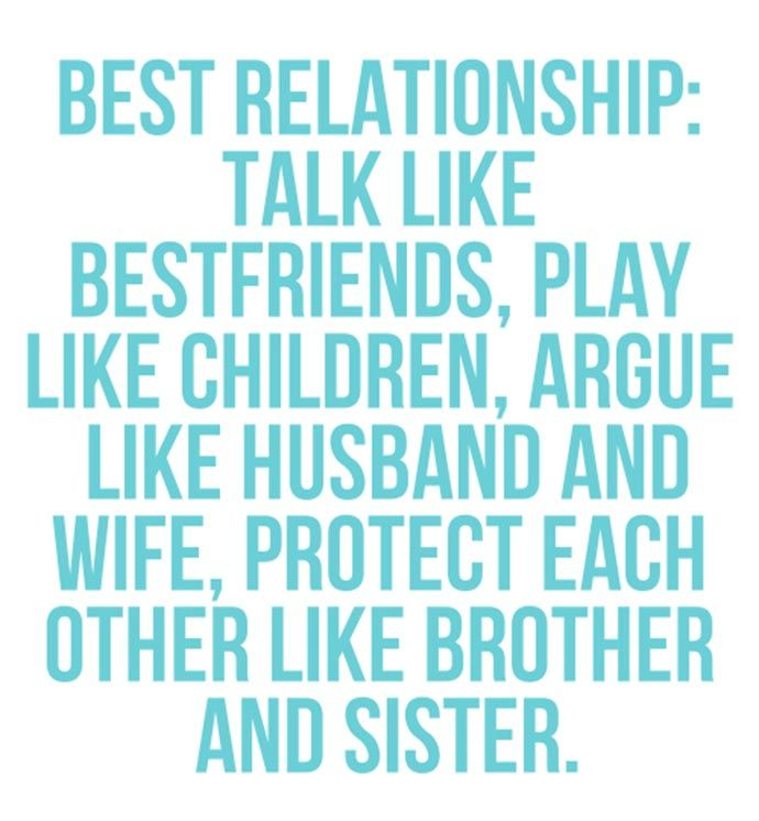 Best Husband And Wife: Quote: Best Relationship: Talk Like Bestfriends, Play Like