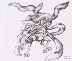 Imagenes De Su Zorro De Naruto Para Dibujar Buscar Con Google