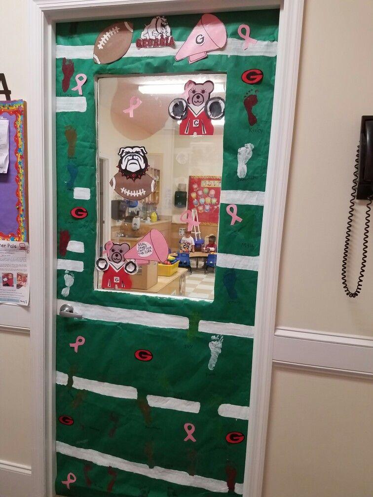 Georgia themed door