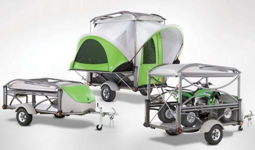 Lightweight Sports Trailers Tent Campers Adventure Trailers