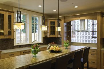 Incredibly Green Home of Chevy Chase - contemporary - kitchen - dc metro - Christian Gladu Design