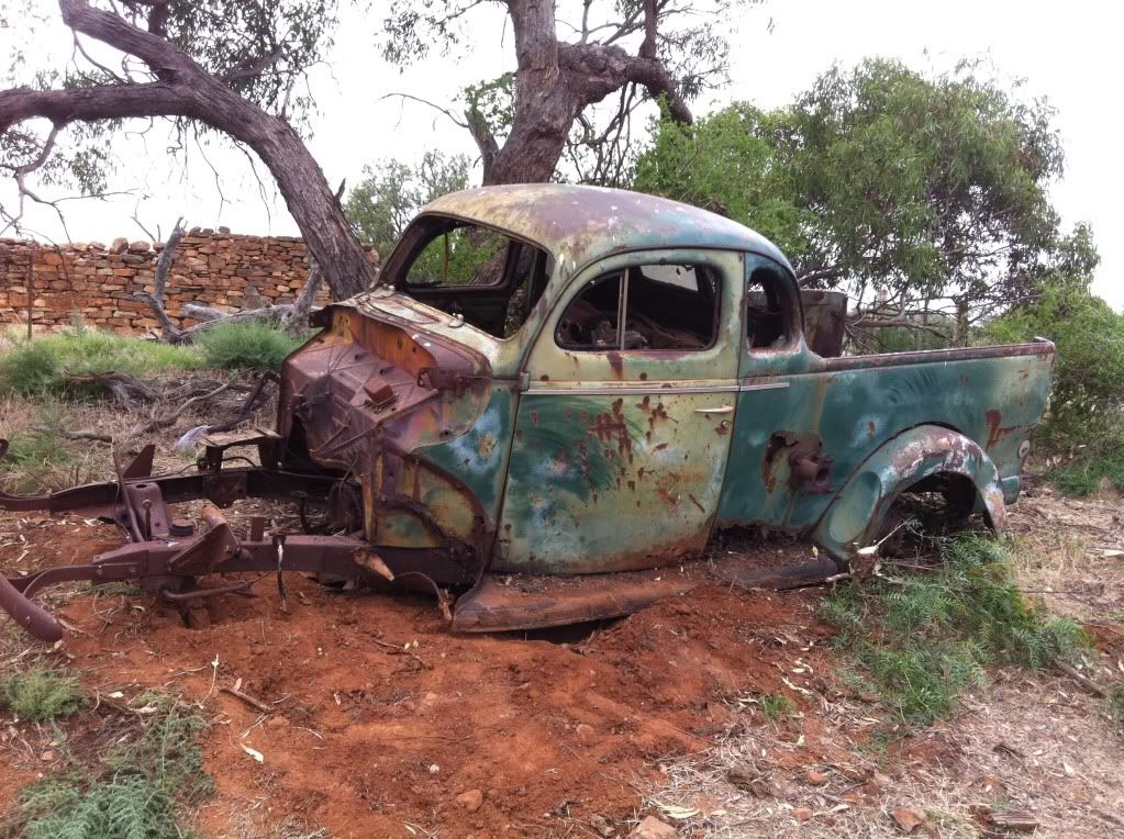 1940 Ford Deluxe Ute Australia Freed Hot Rods Cars Muscle Rusty Cars Old Trucks