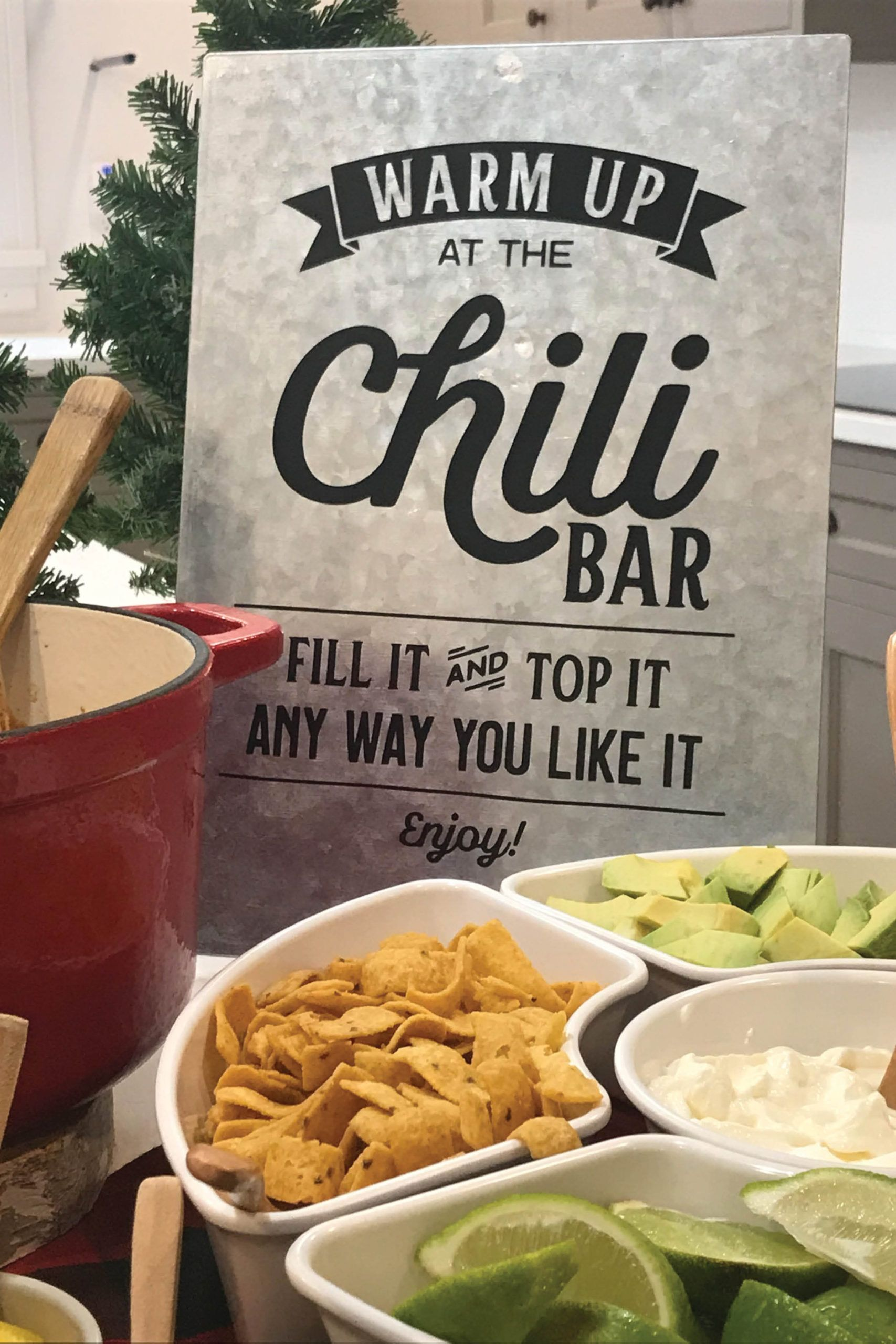 How to host a crowd pleasing Chili Bar | Posted Fete