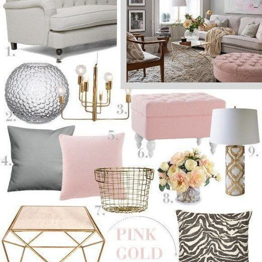 56 The Meaning Of Grey And Pink Living Room Ideas Decor 10 Pink Living Room Gold Living Room Living Room Grey