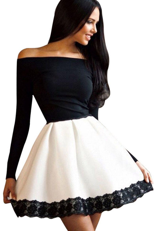 fashion kleid mit langen Ärmeln #kleidung #frauen #kleid