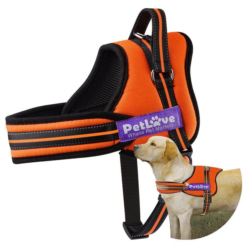Dog Harness, PetLove Soft Leash Padded No Pull Dog Harness