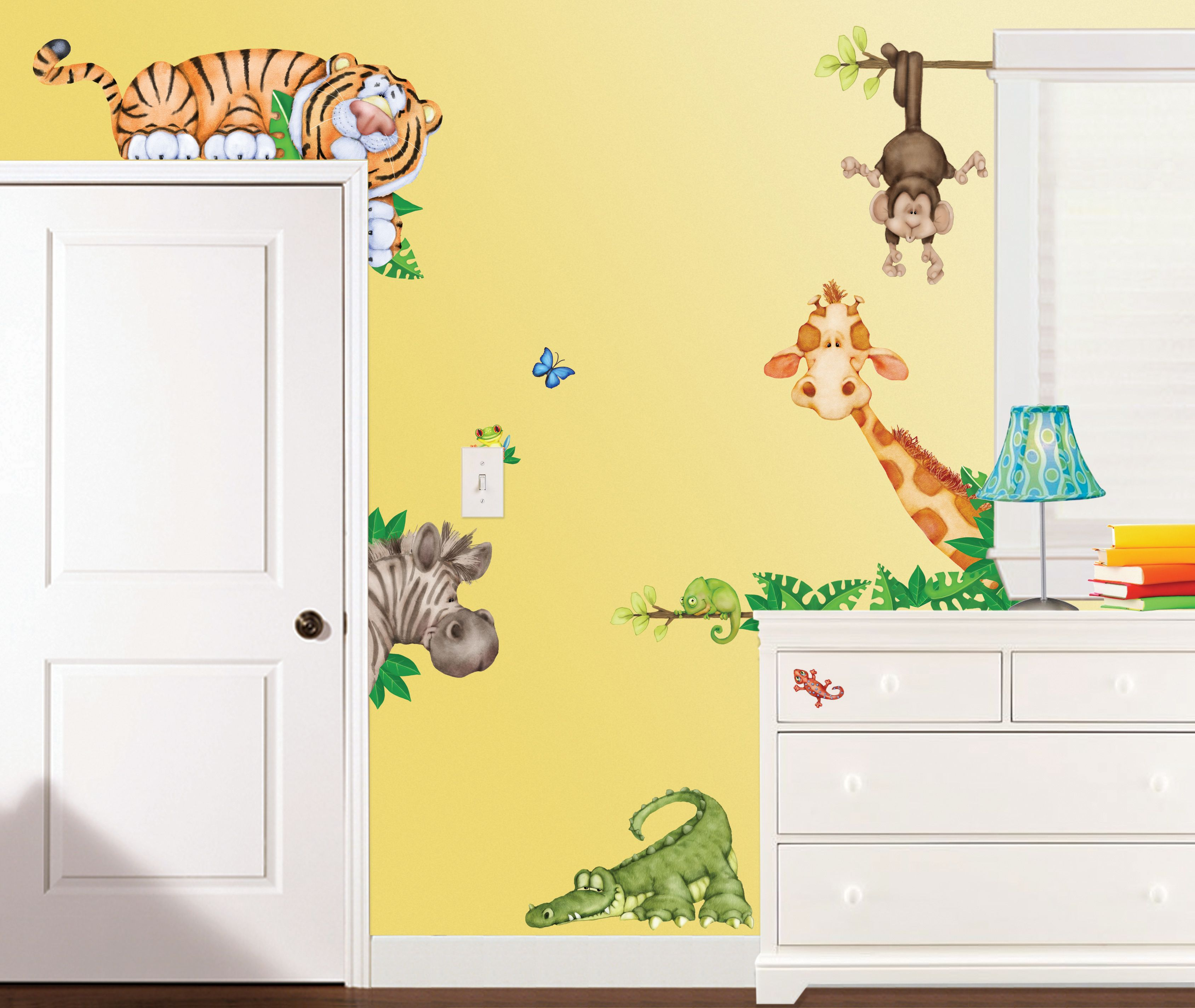 Create a stellar scene in your child\'s room with Room FX™ Jungle ...