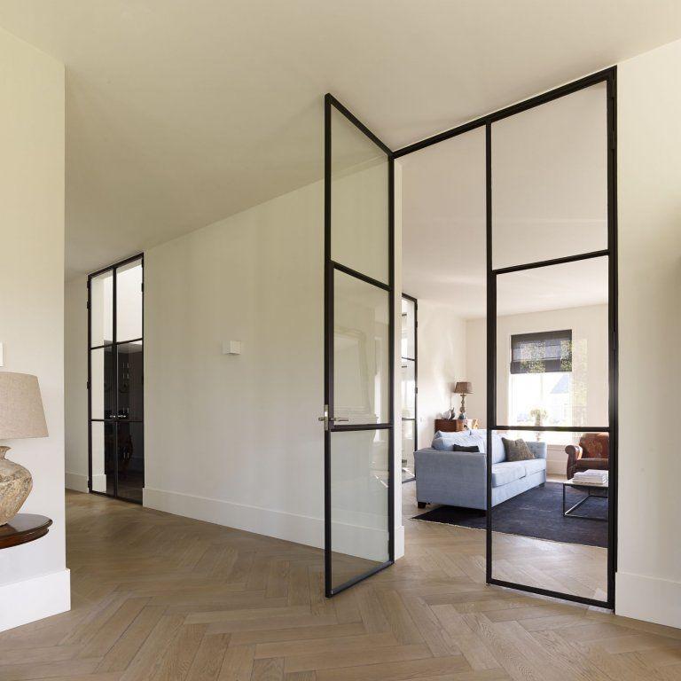 Supermooi die stalen deur | Woonkamer | Pinterest | Doors, Interiors ...