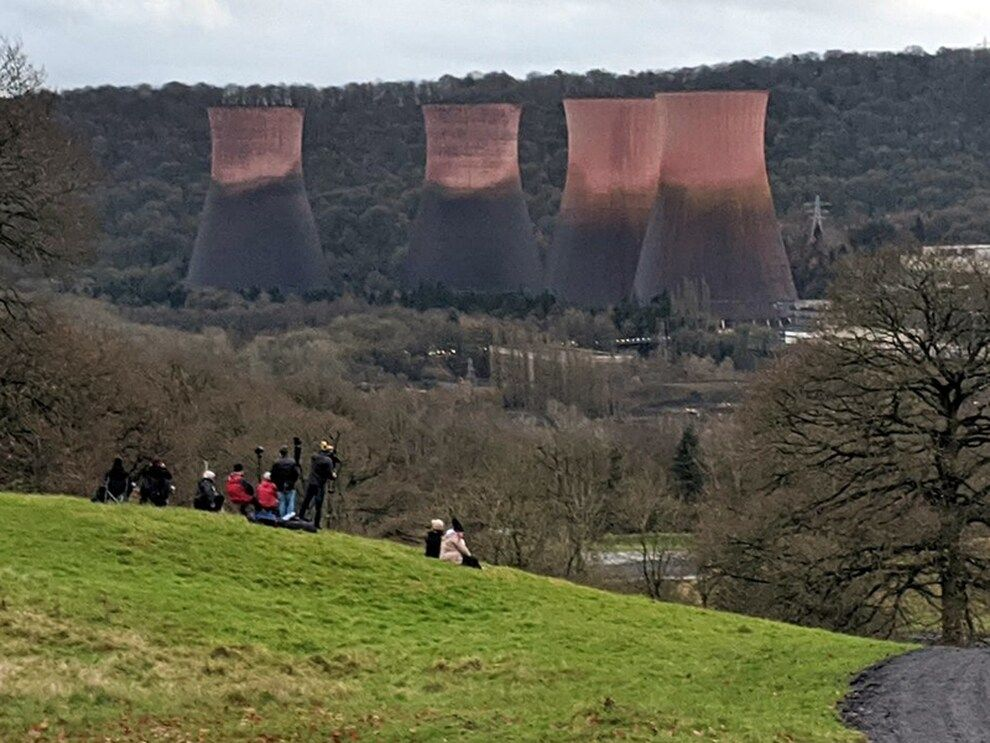 Ironbridge Power Station Cooling Towers Demolished With Video