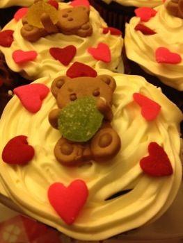 bear cupcake baby shower