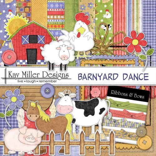 Barnyard Dance Page Kit
