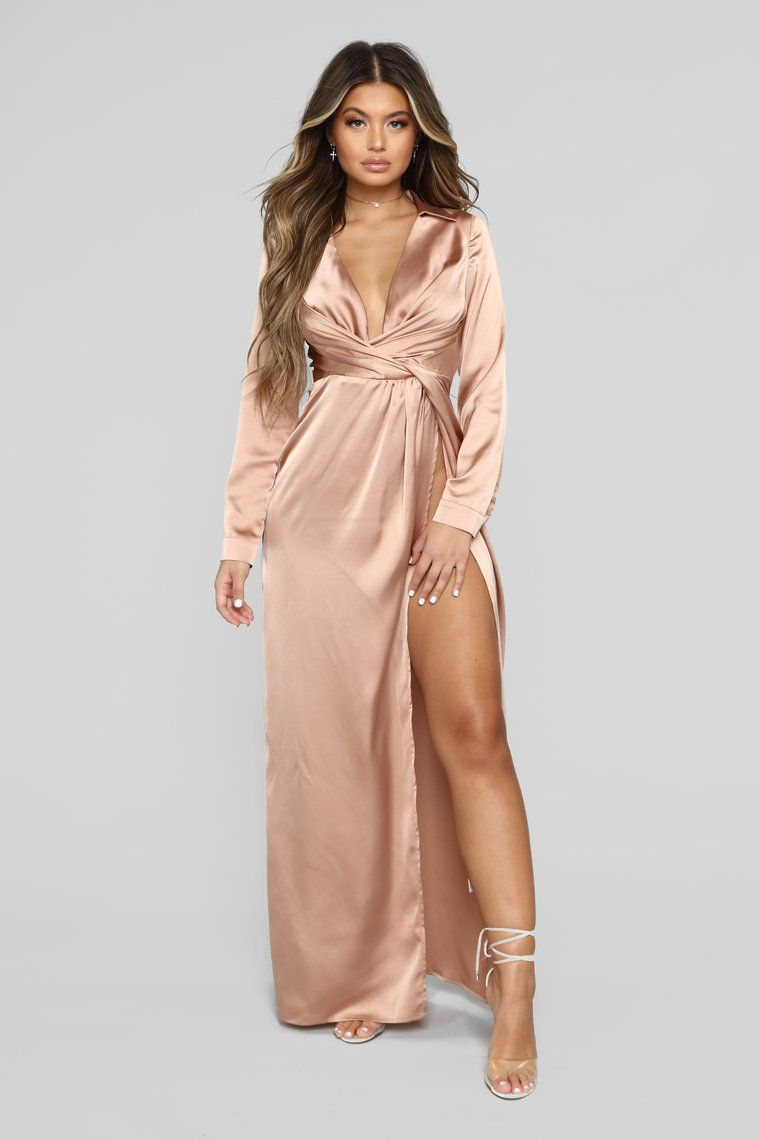 Don T Slip Away Maxi Dress Champagne Maxi Dress Dresses Champagne Dresses Long [ 1140 x 760 Pixel ]