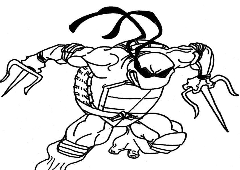 pin auf ausmalbilder ninja turtles