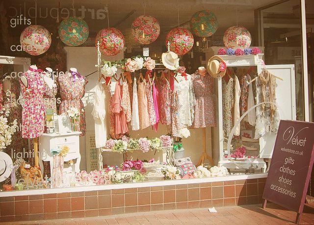 Gift Shop Window Display