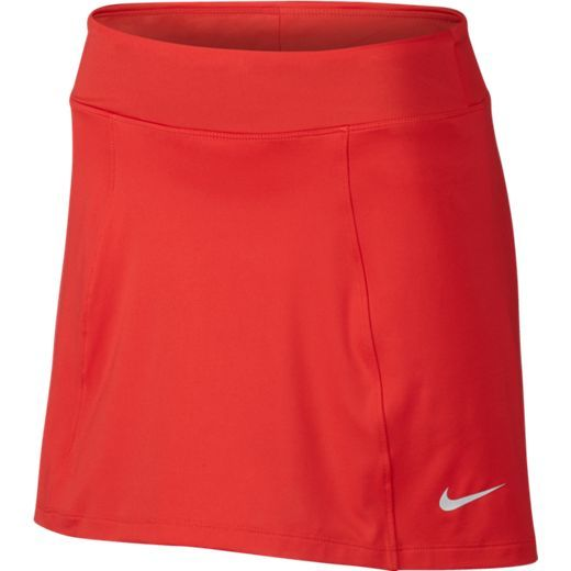 """Max Orange Nike Ladies Dry Knit 14.5"""" Pull On Golf Skort. More ladies golf outfits at #lorisgolfshoppe"""