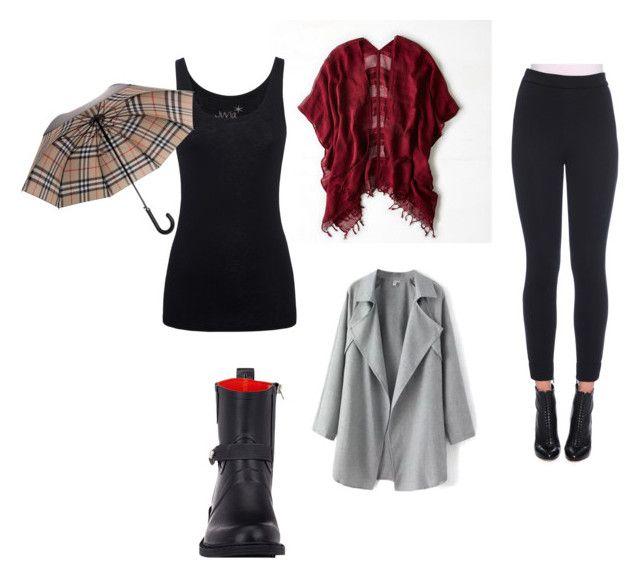 """Warm rainy day"" by fashionista655-1 on Polyvore"