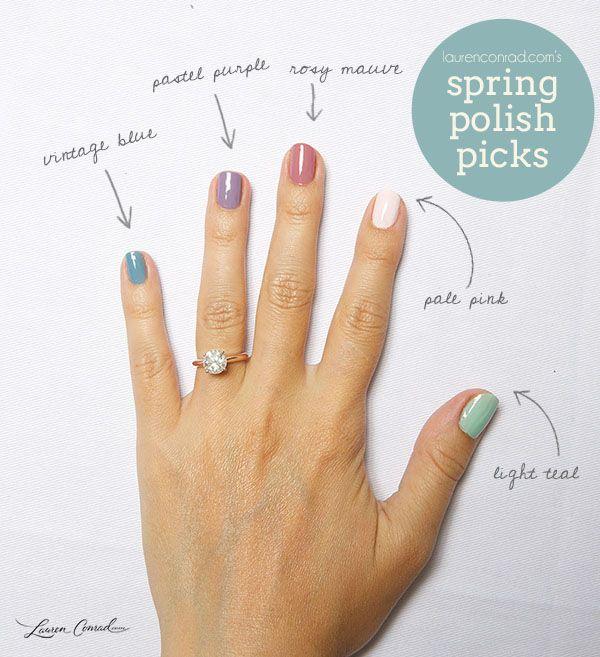 Nail Files My Spring Polish Picks Nail Colors Cute Nails