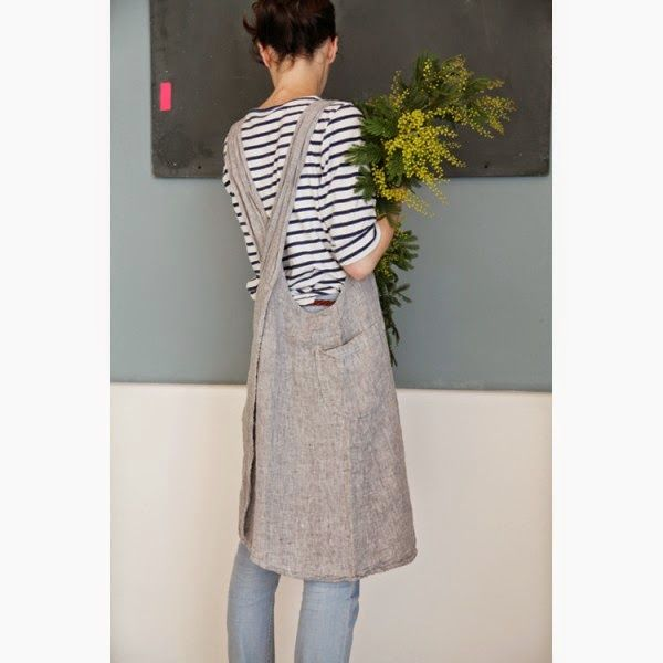 A Japanese Style Apron Tutorial Sewing Inspiration Pinterest