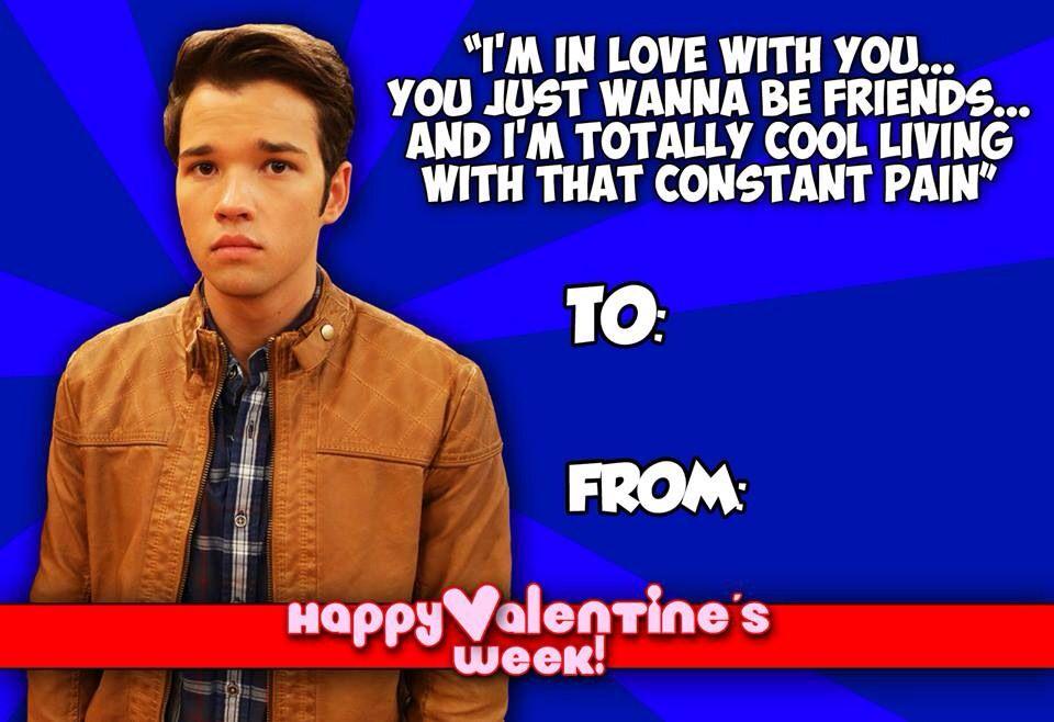 iCarly valentine Valentines Day Pinterest – Icarly Valentine Cards