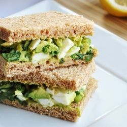 Try this healthy avocado egg salad sandwich for your next afternoon try this healthy avocado egg salad sandwich for your next afternoon tea party foodgawker forumfinder Images