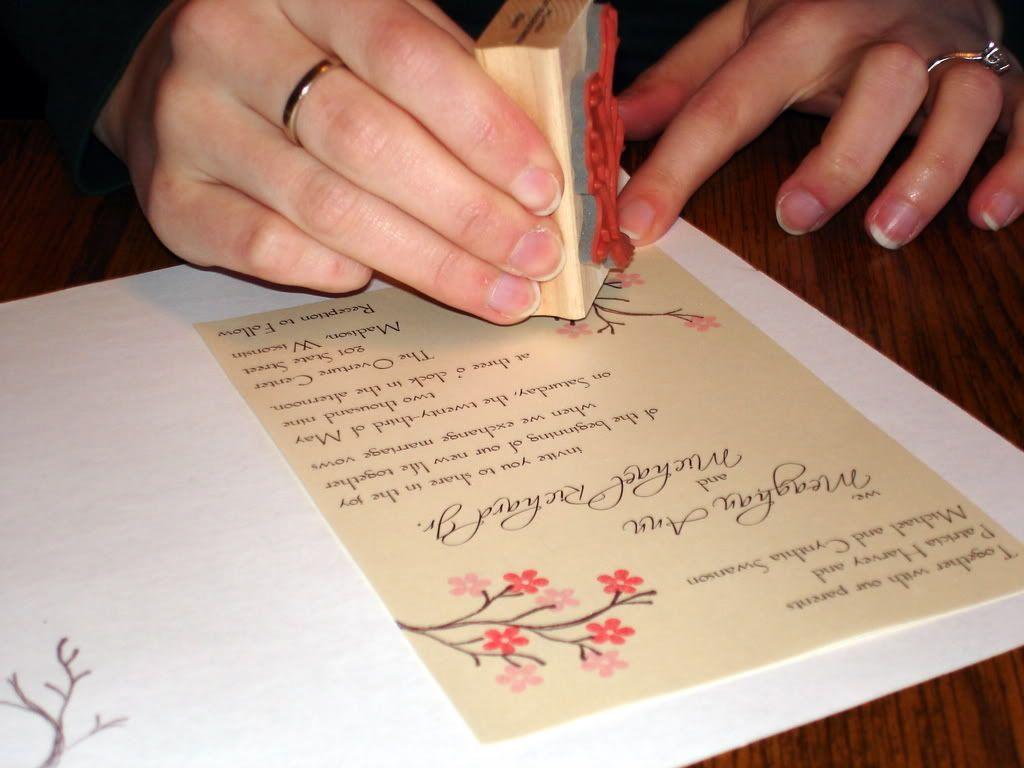 DIY Wedding Invitations – Part 1   Diy wedding invitations, DIY ...